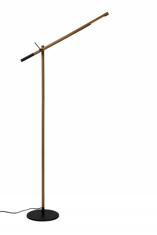 LED stojací lampa Lucide Woodstock L_03705/05/72 1x5W LED - moderní design