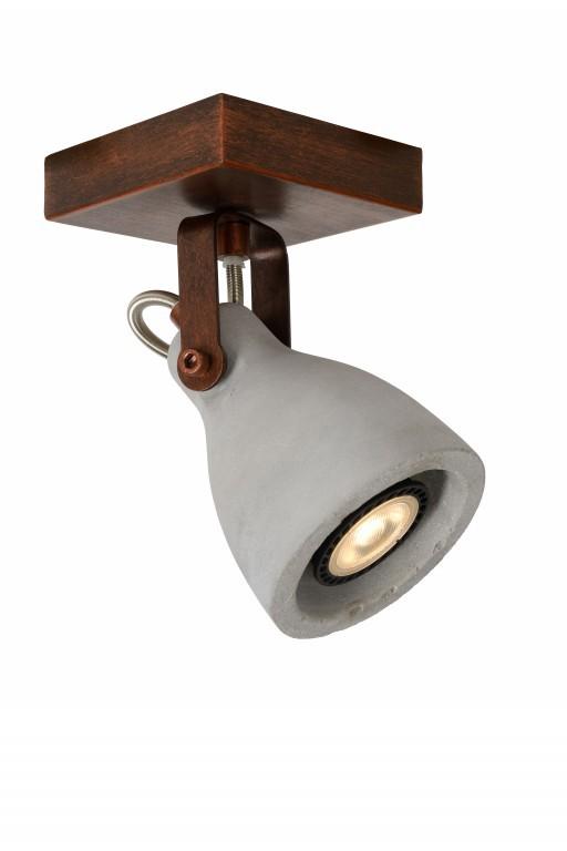 LED stropní bodové svítidlo Lucide Concri L_05910/05/17 1x5W GU10 - působivá bodovka