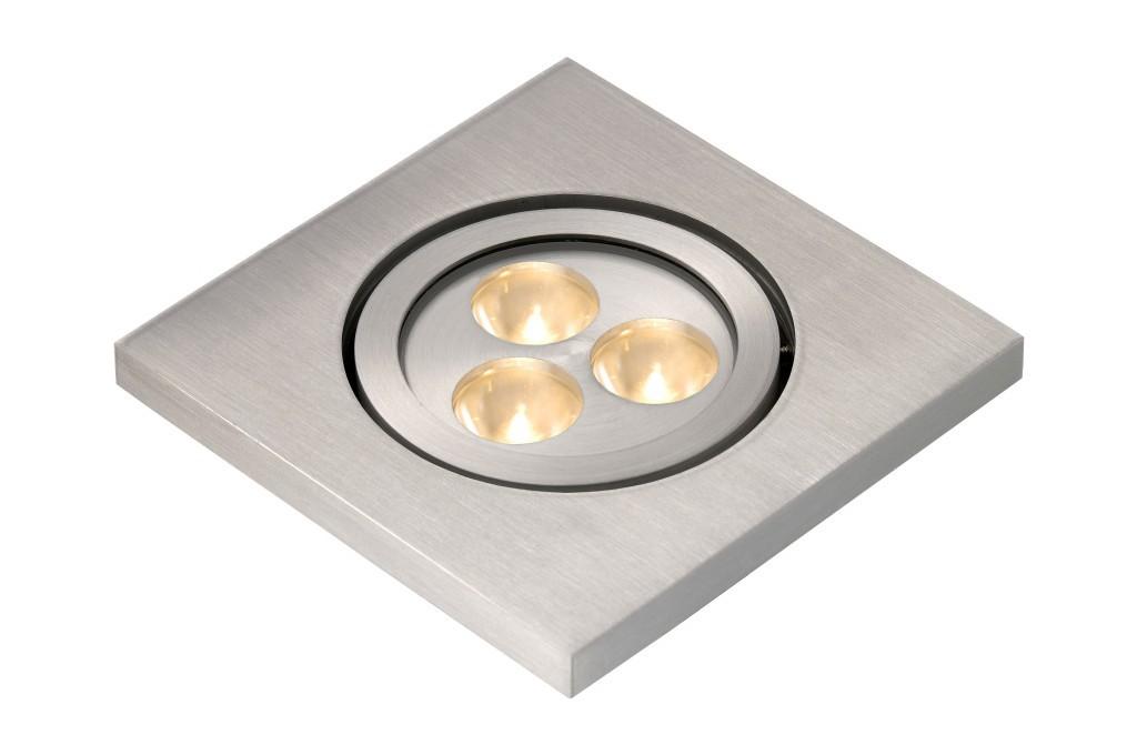 LED venkovní bodové světlo Lucide Elson L_10858/23/12 3x1W LED - zápustná bodovka