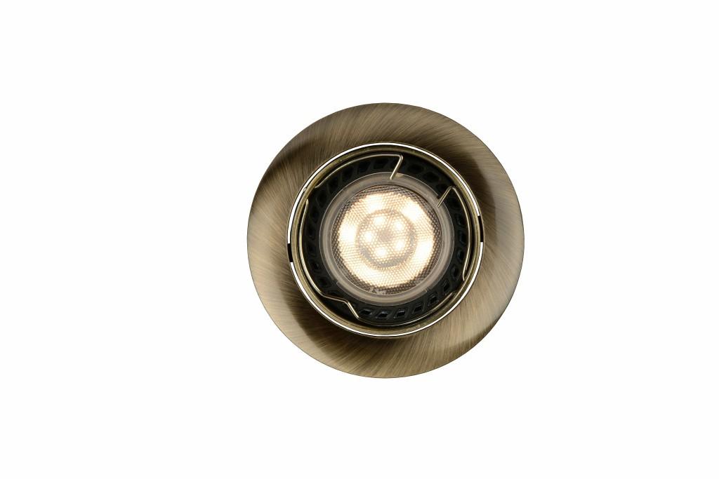 LED zápustné stropní svítidlo bodové Lucide FOCUS 11001/05/03 1x5W GU10