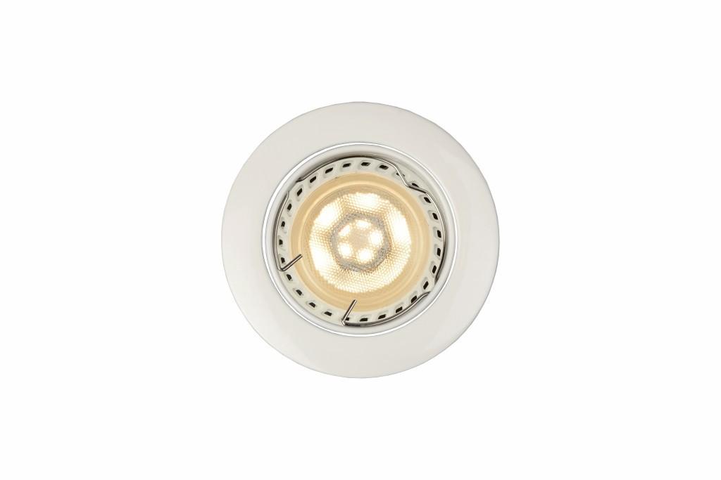 LED zápustné stropní svítidlo bodové Lucide FOCUS 11001/05/31 1x5W GU10