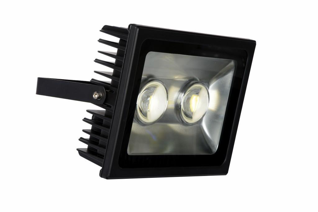 LED venkovní reflektor Lucide Flood L_14806/80/30 2x40W LED - výkonný moderní reflektor