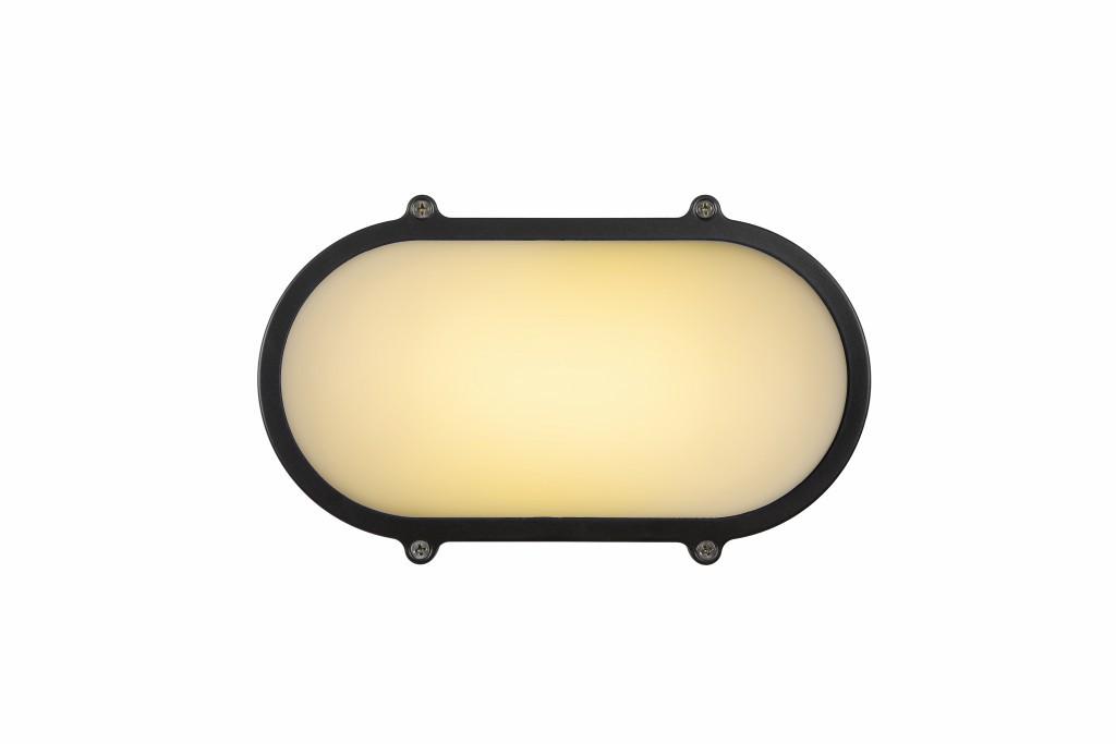 LED venkovní nástěnné svítidlo Lucide Hublot L_14811/12/36 1x12W LED - praktické osvětlení