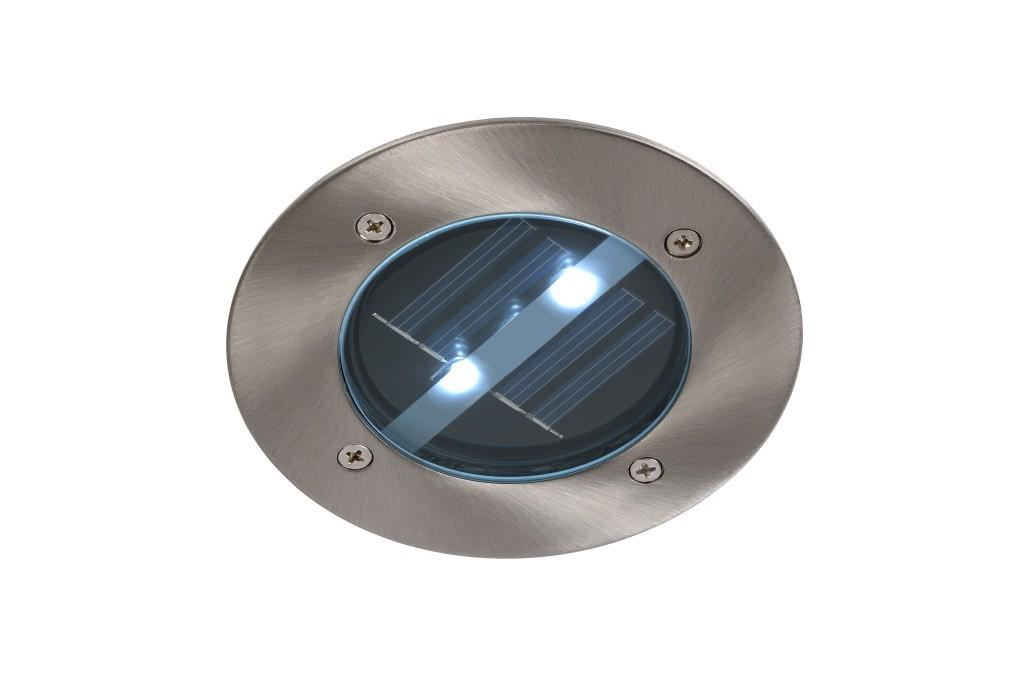 venkovní zápustné svítidlo Lucide Solar L_14874/01/12 2x0,6W LED - orientační solární světlo