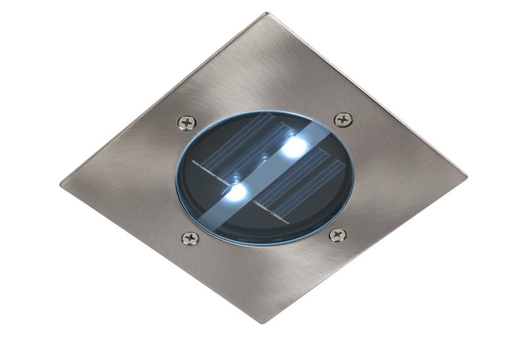 venkovní zápustné svítidlo Lucide Solar L_14875/01/12 2x0,6W LED - orientační solární světlo
