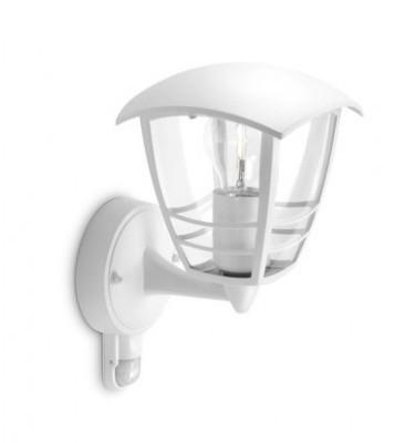 venkovní nástěnné svítidlo s pohybovým čidlem Philips CREEK 15388/31/16 - bílá