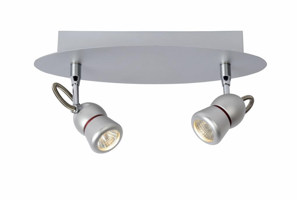 LED stropní svítidlo bodové svítidlo Lucide TIRY 16956/10/36 2x5W integrovaný LED zdroj