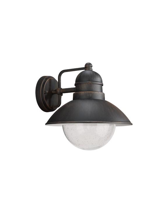 Philips Massive 17480/86/PN venkovní nástěnné svítidlo Damascus 1x60W E27 IP44 - nahrazuje 17237/86/