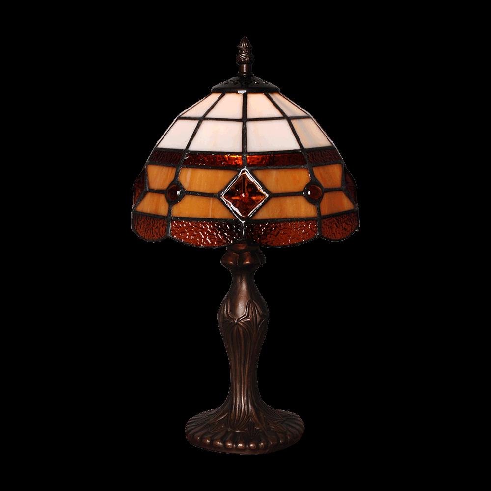Prezent 92000176 stolní lampička Tiffany 1x40W|E14