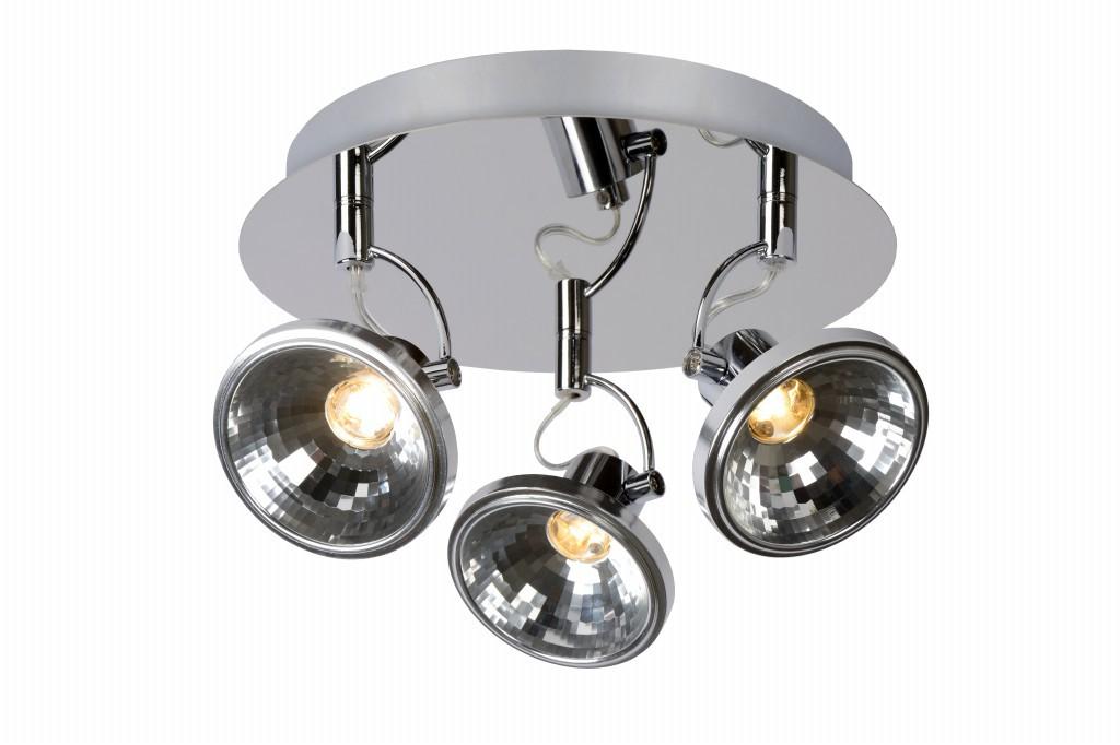 LED stropní bodové svítidlo Lucide Delis L_17941/09/11 3x3W LED - moderní bodovka