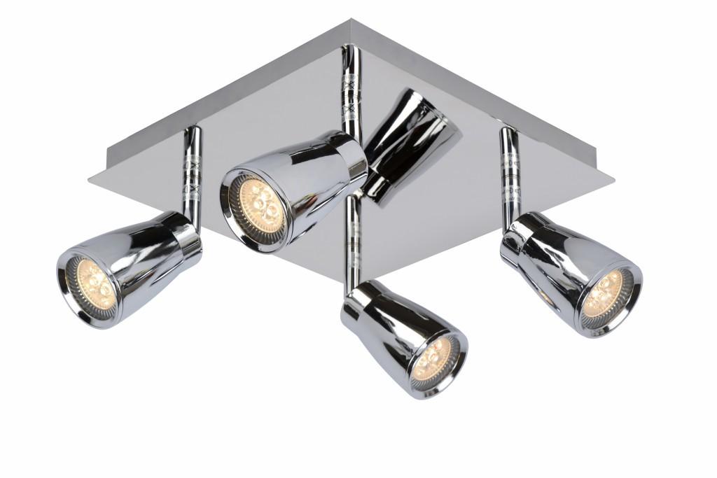 LED stropní bodové svítidlo Lucide Lana L_17949/14/11 4x5W GU10 - moderní koupelnové bodovky