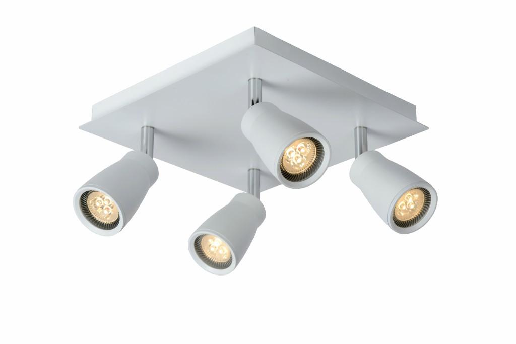 LED stropní bodové svítidlo Lucide Lana L_17949/14/31 4x5W GU10 - moderní koupelnové bodovky