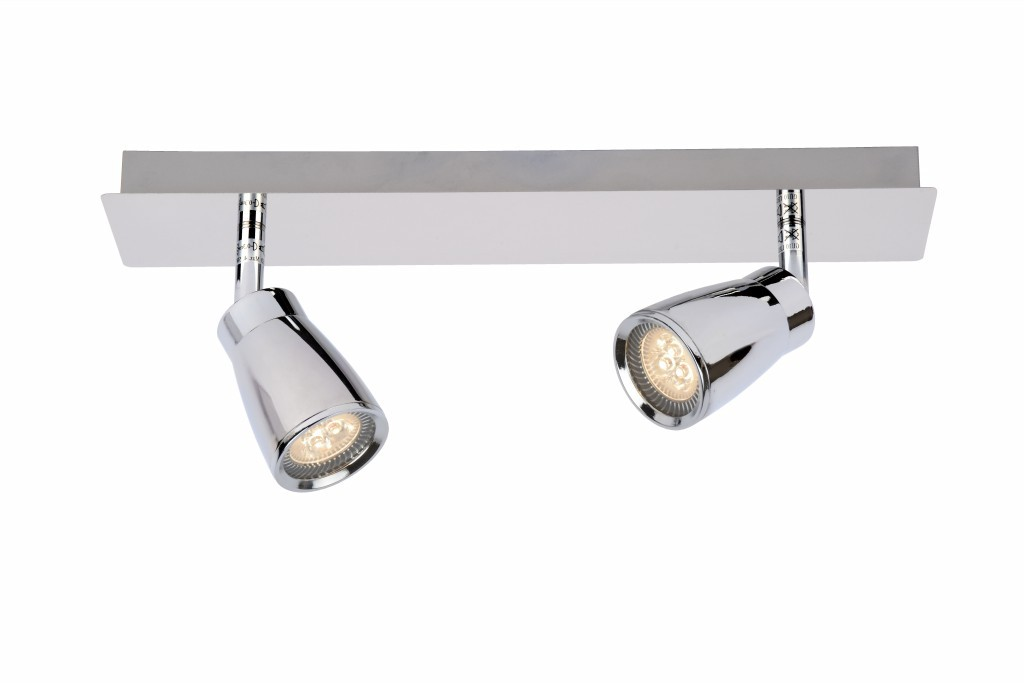 LED stropní bodové svítidlo Lucide Lana 17949/22/11 2x5W GU10 - moderní koupelnové bodovky