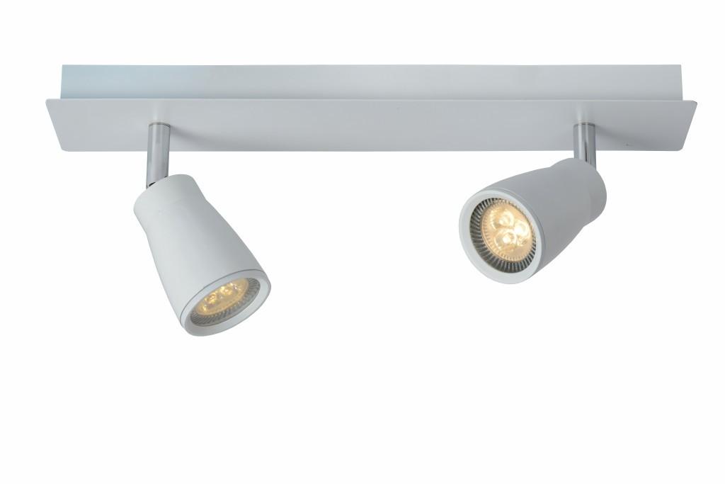 LED stropní bodové svítidlo Lucide Lana 17949/22/31 2x5W GU10 - moderní koupelnové bodovky