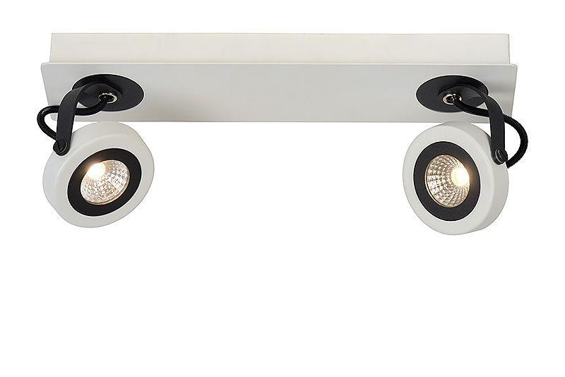 LED stropní bodové svítidlo Lucide Teres 17950/10/31 2x5W LED - moderní bodovky