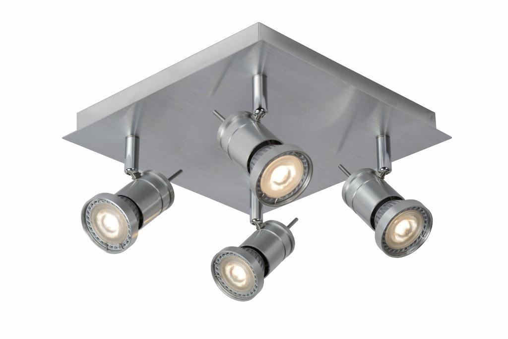 LED stropní bodové svítidlo Lucide Twinny L_17990/19/12 4x5W GU10 - komplexní serie bodovek