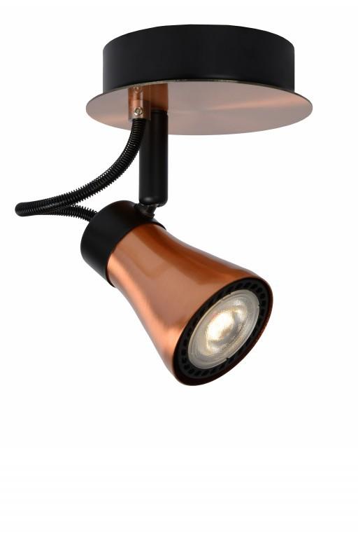 LED stropní bodové svítidlo Lucide Bolo L_17992/05/17 1x5W GU10 - serie stmívatelných bodovek
