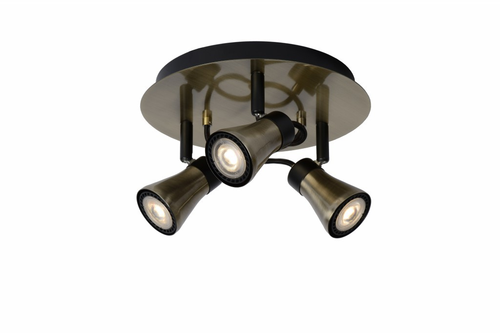 LED stropní bodové svítidlo Lucide Bolo L_17992/14/03 3x5W GU10 - serie stmívatelných bodovek