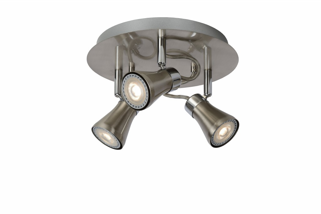 LED stropní bodové svítidlo Lucide Bolo L_17992/14/12 3x5W GU10 - serie stmívatelných bodovek
