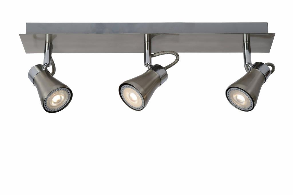 LED stropní bodové svítidlo Lucide Bolo L_17992/15/12 3x5W GU10 - serie stmívatelných bodovek