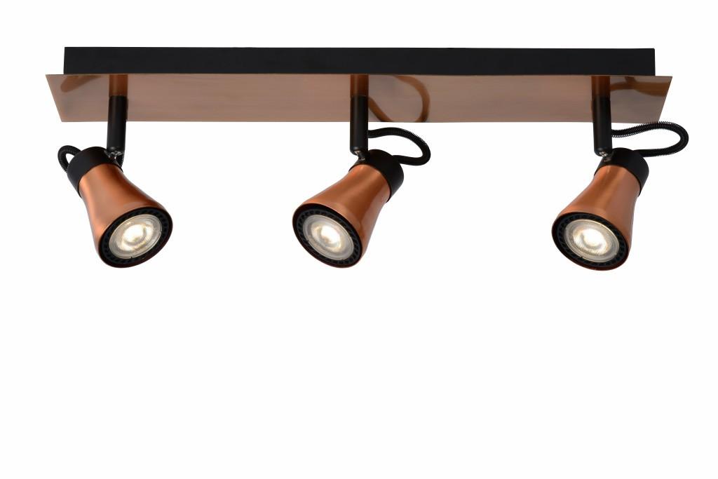 LED stropní bodové svítidlo Lucide Bolo L_17992/15/17 3x5W GU10 - serie stmívatelných bodovek