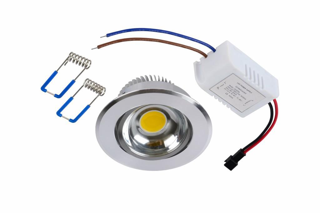 LED zápustné stropní svítidlo bodové Lucide Spot L_22950/21/12 1x5W LED - elegantní bodovka