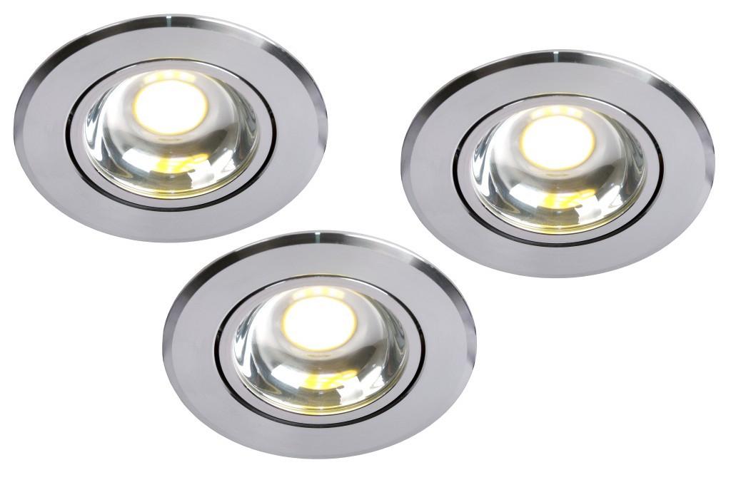 LED zápustné stropní svítidlo bodové Lucide Spot L_22950/23/12 3x5W LED - elegantní bodovka