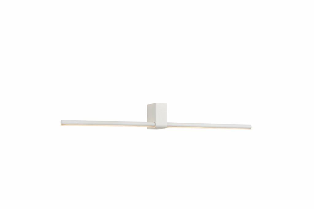 LED nástěnné svítidlo Lucide Sirius L_23257/06/31 2x3W LED - koupelnové osvětlení