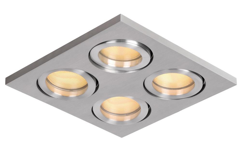 zápustné stropní svítidlo bodové Lucide Talboo 23923/24/12 4x35W GU10 - moderní bodovka