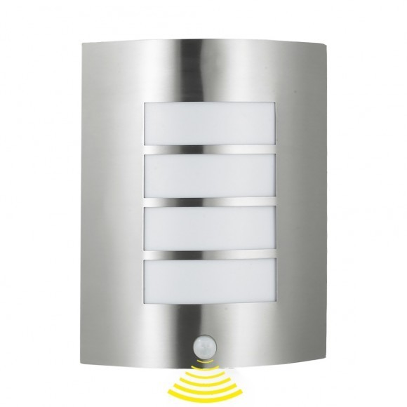 Prezent 61016 Memphis venkovní nástěnné svítidlo se senzorem