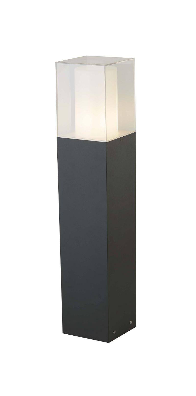 Searchlight 2582-450GY LED venkovní zahradní sloupek E27 25W IP44