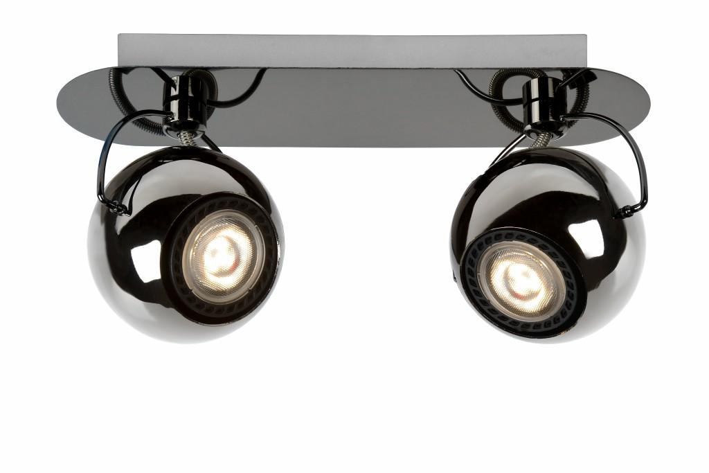 LED stropní bodové svítidlo Lucide Mini-Comet L_26950/10/09 2x5W GU10 - stmívací bodovka