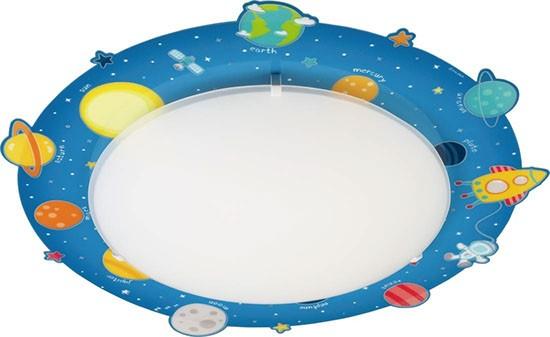 stropní svítidlo DALBER Planets D41346 2x40W E27 - dětský lustr