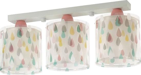 Dalber D41433 dětské stropní svítidlo Color Rain 3x60W E27