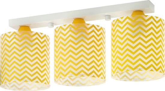 Dalber D42663 dětské stropní svítidlo Fun 3x60W E27 - žluté