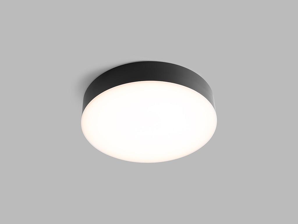 LED2 Lighting LED2 5200134 LED venkovní stropní svítidlo s pohybovým čidlem Drum 1x12W|3000K|IP65