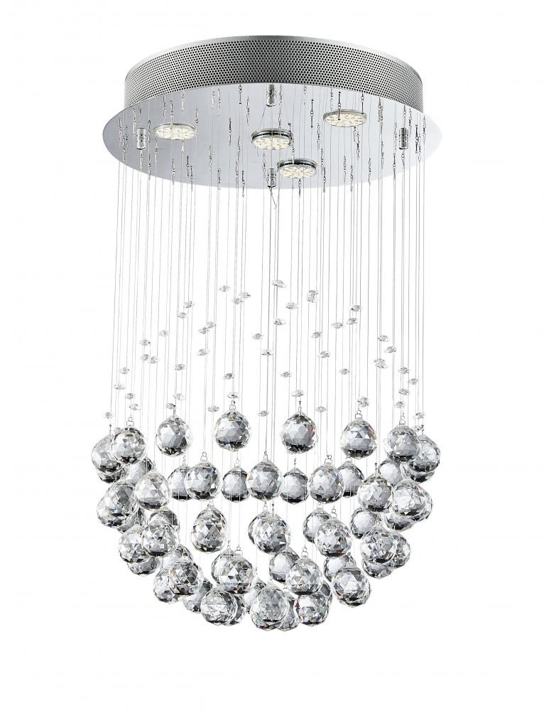 Luxera 62413 přisazené stropní svítidlo Xaver 4x50W GU10