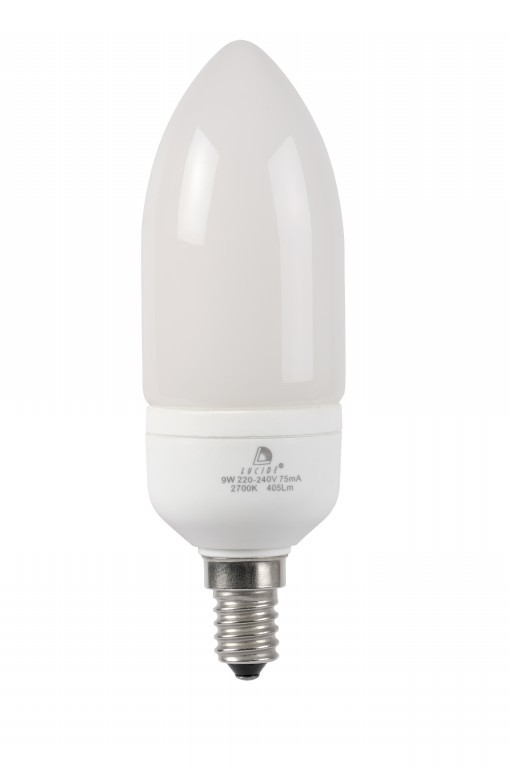 žárovka Lucide CFL BULB 50515/09/31 1x9W E14 - úsporná