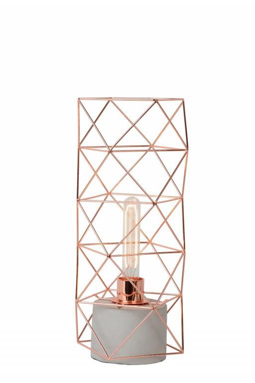 stolní lampička Lucide RUMICO 71566/01/17 1x60W E27