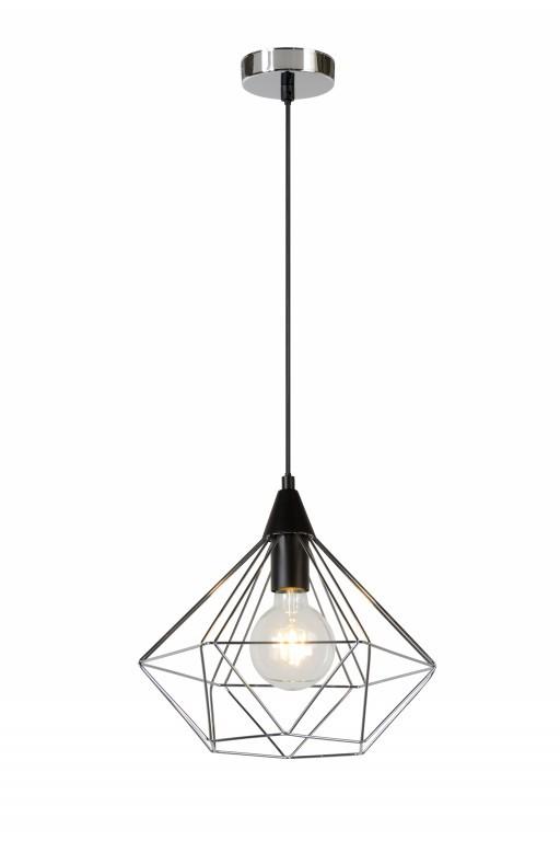 závěsné svítidlo - lustr Lucide CECILIA 78378/32/11 1x60W E27