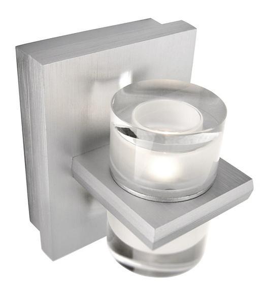 LED nástěnné svítidlo bodové Philips DARIUS 37242/48/13 - hliník