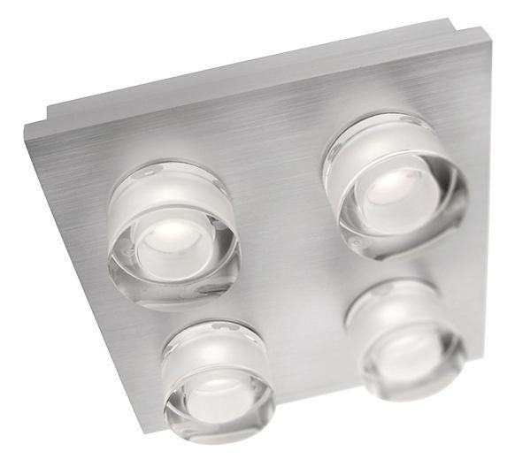 LED přisazené stropní svítidlo Philips DARIUS 37245/48/13 - hliník