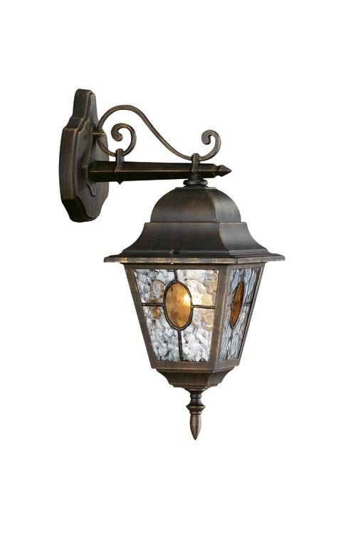 venkovní nástěnné svítidlo lampa Philips Massive München 15171/42/10 1x100W E27 - bronzová patina
