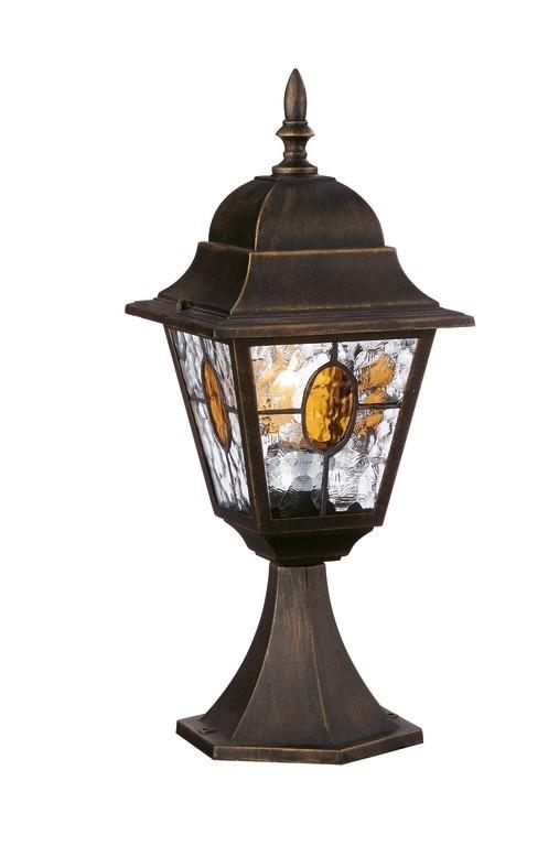 venkovní stojací lampa Philips Massive München 15172/42/10 1x100W E27 - bronzová patina