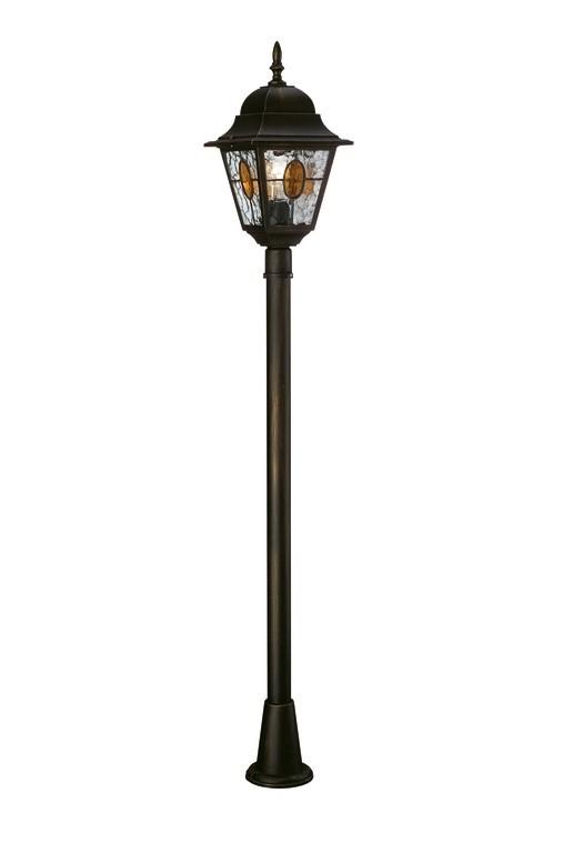 venkovní lampa Philips Massive München 15173/42/10 1x100W E27 - bronzová patina