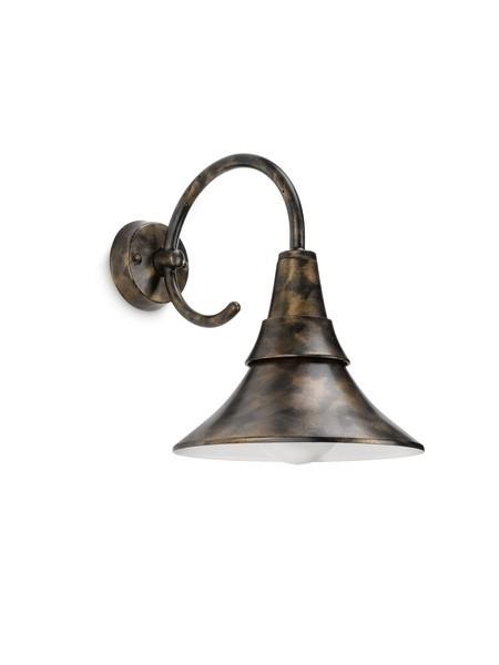 venkovní nástěnné svítidlo Philips FOWL 17258/42/16 - hnědá s bronzovou patinou