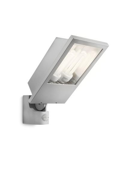 venkovní nástěnné svítidlo reflektor s pohybovým čidlem Philips BOTANIC 17516/87/16 - šedá