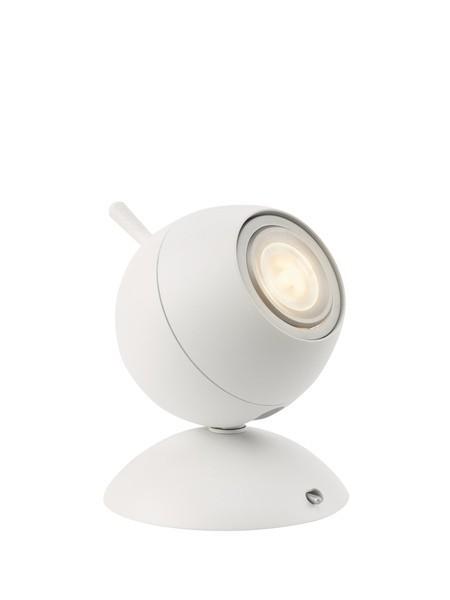 LED stolní lampa Philips RETROPLANET 57035/31/LI - bílá