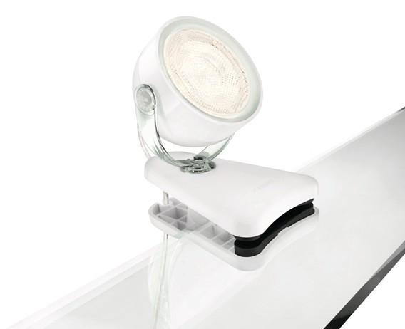 LED dětská stolní lampa Philips DYNA 53231/31/16 - bílá