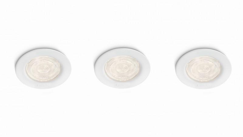 LED zápustné bodové svítidlo Philips SCEPTRUM 59100/31/16 - bílá